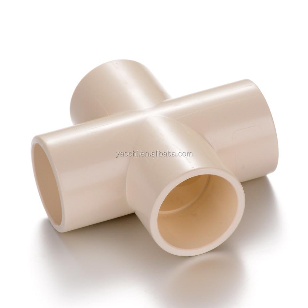 Tutte le dimensioni disponibili pvc raccordi croce tee for Tipi di tubi idraulici in plastica