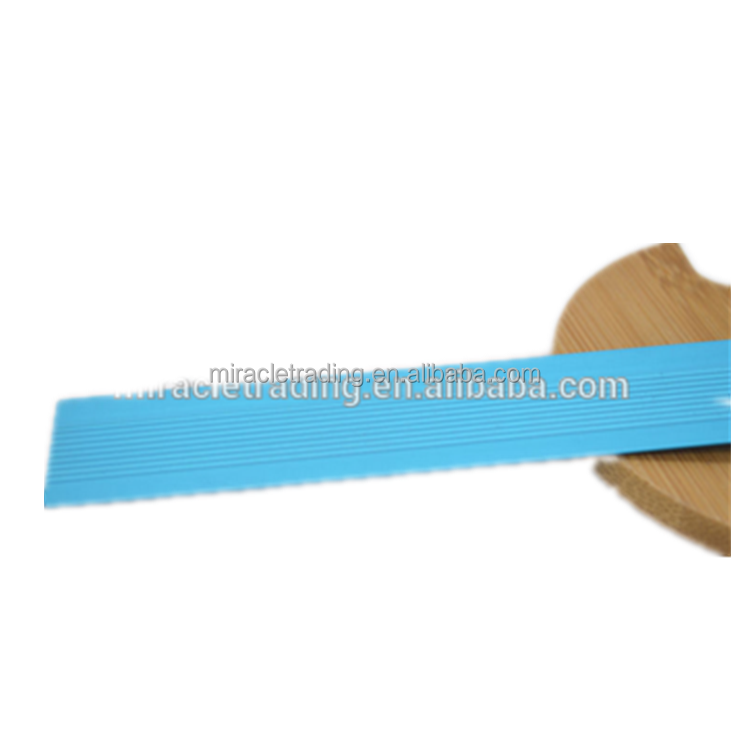 Optical linear scale graduated steel rulers promotional clear lines aluminium ruler