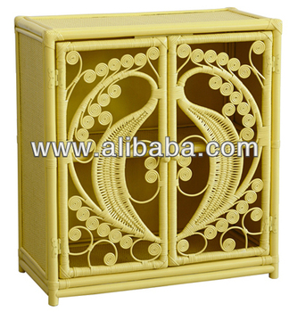 Rattan Peacock Cabinet - Buy Rattan Peacock Cabinet Product on ...
