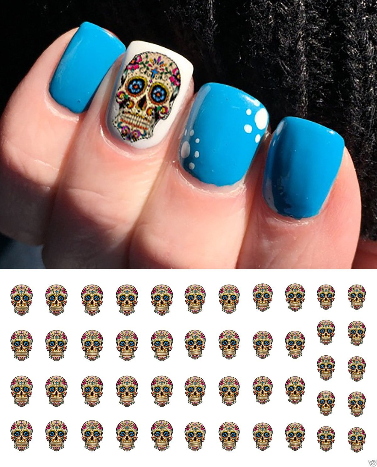 Cheap Skull Nail Decals, find Skull Nail Decals deals on line at ...