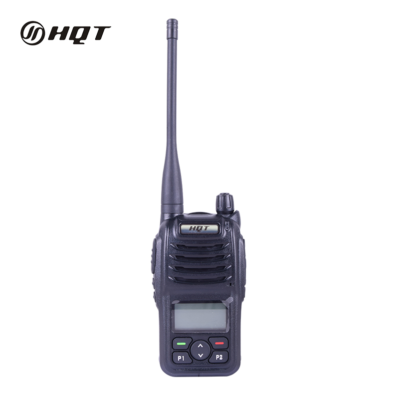Venda Hot Digital Dual Band Rádio Portátil 20 km Gama Walkie Talkie com Alerta De Emergência