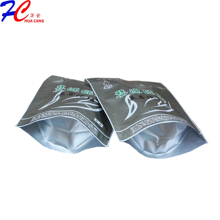 Customized aluminum foil whey protein packing bags with ziplock