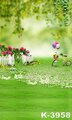 Casual Outdoor Green Scenic Wedding Photo Backgrounds 150cm x 200cm Baby Child Adult Muslin Backdrops For