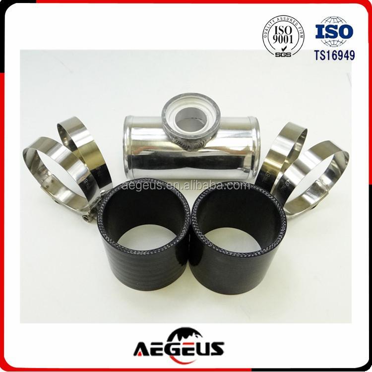 "Universal 3/"" Turbo Bov Adapter Ssqv Sqv Style Silicon Coupler Tube Hose Black"