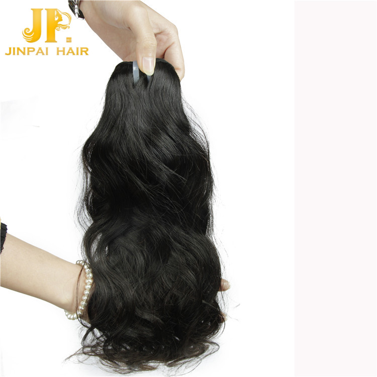 JP Hair Can Be Bleached Virgin Brazilian Natural Wave hair Extension