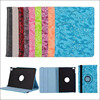 Tablet case super slim grape printing pu leather 360 rotating case for ipad pro 12.9 inch , for ipad pro leather case