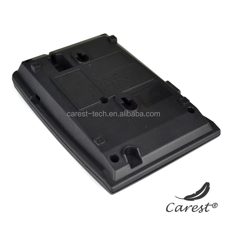 OEM Injection plastic phone shell, telephone hard plastic cases, plastic microphone housing