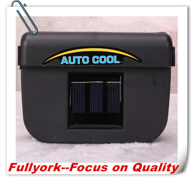As Seen on TV Solar Auto Cool Powered Solar Car Fan Car Vent