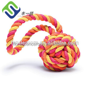 Cheap cotton twisted cotton rope/cord decoration on sale