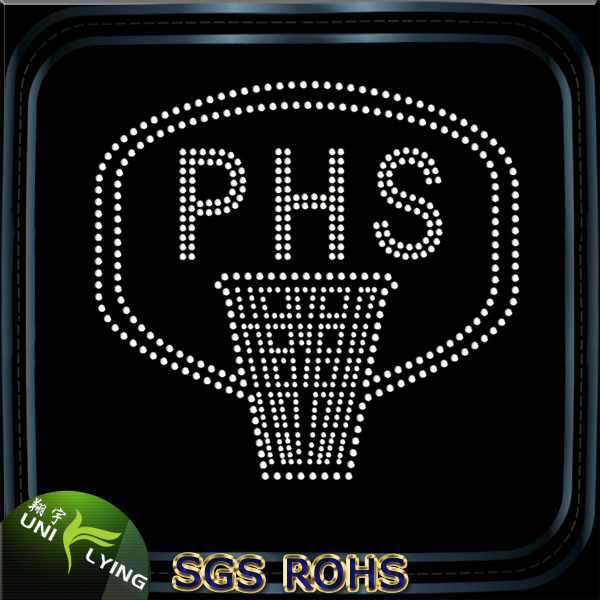 PHS Basketry Wholesale Iron On Rhinestone Appliques