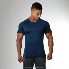 OEM mens professional apparel breathable active wear male's latest muscle top polo t shirts