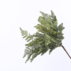 high quality Artificial greenery plastic palm leaf bush for room decoration