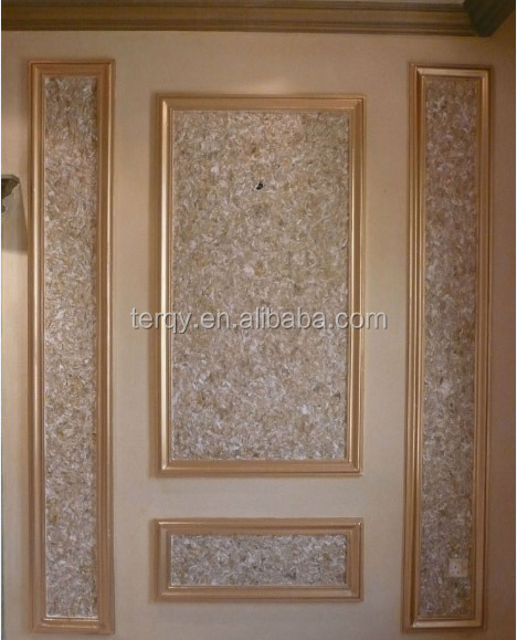 Yisenni Luxury Mould Gypsum Cornice Middle East Style Home Decor
