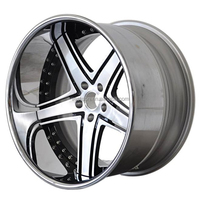 5 spokes / 5 lug forged wheel rim