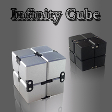 New Fidget Hand Cube Stress Relief Spinner Toy Fidget Toys Infinity Cube