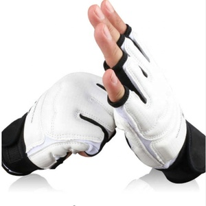 Professional Taekwondo Brace Protection Sparring Hand Guard Protector Cover Boxing Gloves