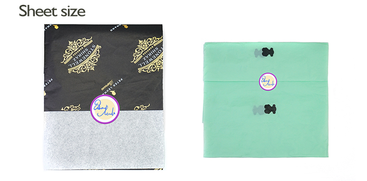 wholesale Custom Logo Printed Custom Tissue Paper With Company Logo For Garment,Shoes,Gift Wrapping