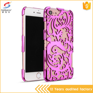 Consumer Electronics Mobile Phone Case Non-slip Fashionable Hollow Phone Accessories for iPhone7 plus