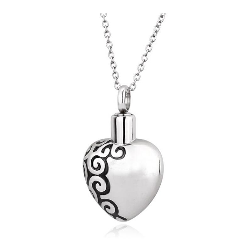 7110e861aa24 Al por mayor siempre en mi corazón 316L collar del acero inoxidable con la  letra impresión