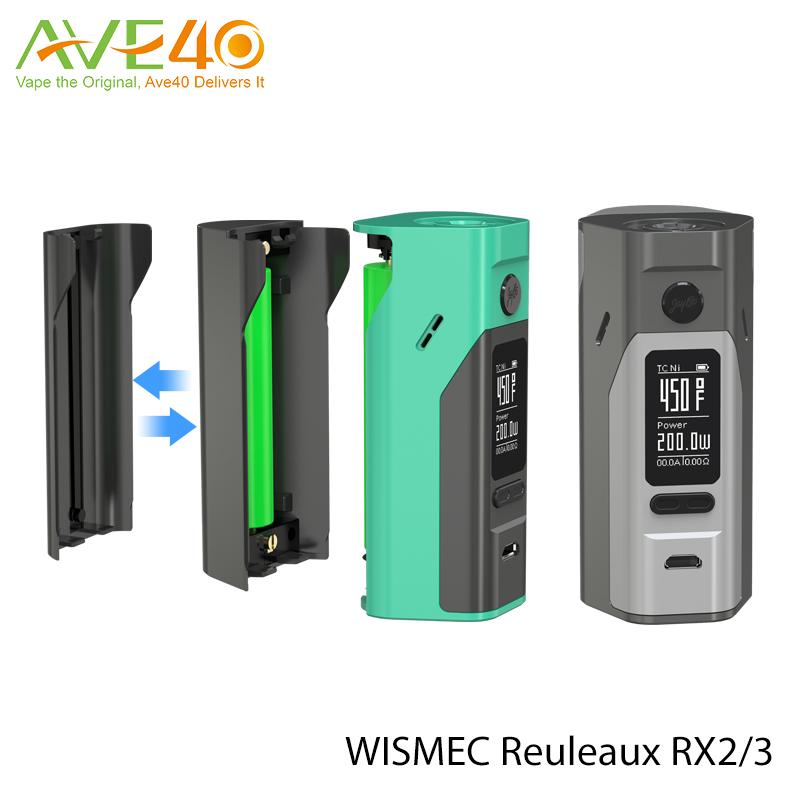 Original Wismec Reuleaux Rx2/3 Mod 150w Rx 2/3 Mod With Factory ...