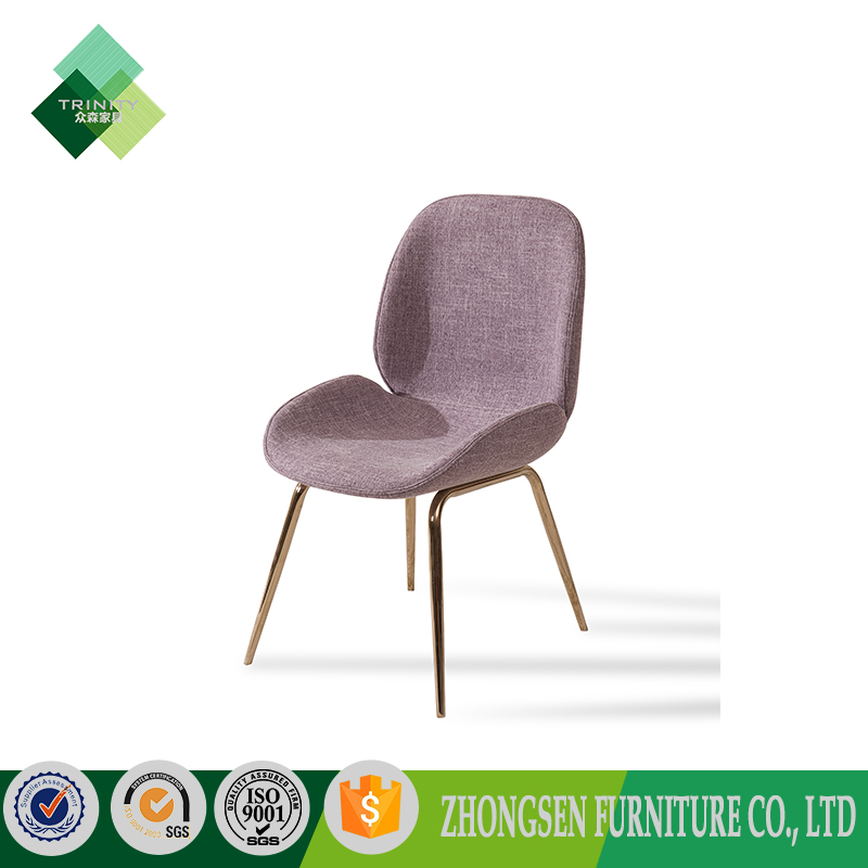 Metal restaurant chair,rose gold metal chair,dining chair metal for sale