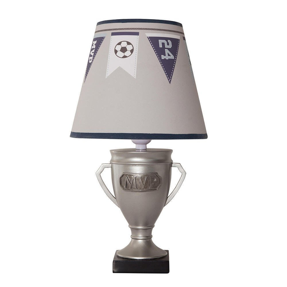 Cheap sports lamp shade find sports lamp shade deals on line at get quotations silver varsity sports table lamp with shade and bulb for living room and bed room mozeypictures Choice Image