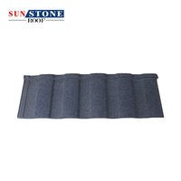 Construction building materials stone coated metal Roof