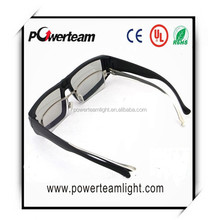 plastic circular polarized 3d glasses for LG TV or real 3d cinema
