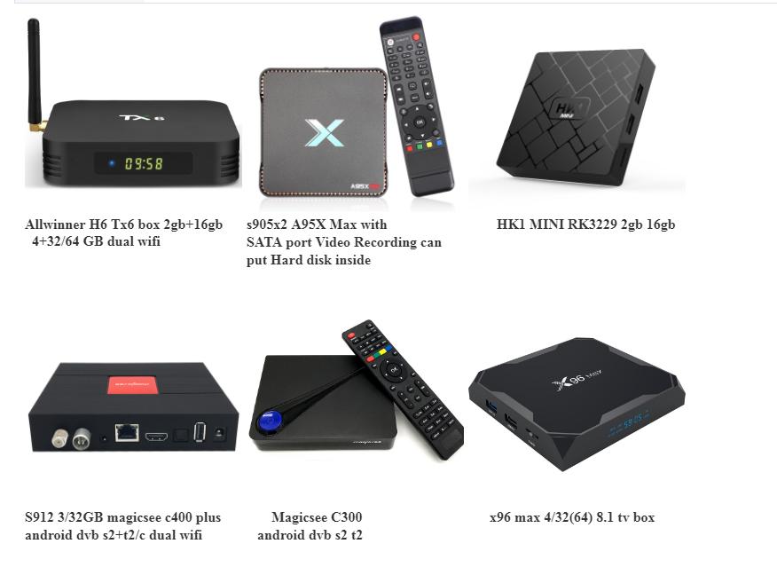 אנדרואיד 9.0 RK3318 טלוויזיה תיבת Quad core 4GB RAM 32GB ROM BT4.0 4K 2.4G/5GHz WIFI Magicsee N5 נובה סט top box