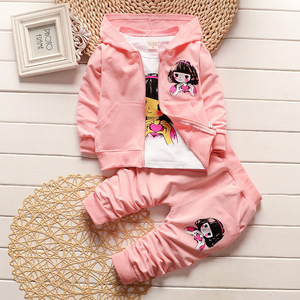 Online Shopping Kids Girls Clothing Sets Autumn Child Clothes