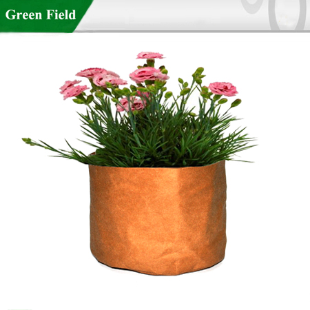 Kraft Paper Planter, Recycled Kraft Paper Planter Pot