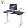 Electric dual motor standing laptop desk adjustable lifting frame for office use two motors