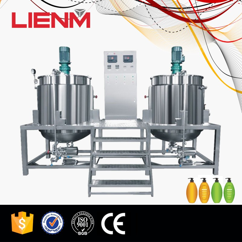 Single Tank Mixer Oil Blender Detergent Homogentzing Mixer