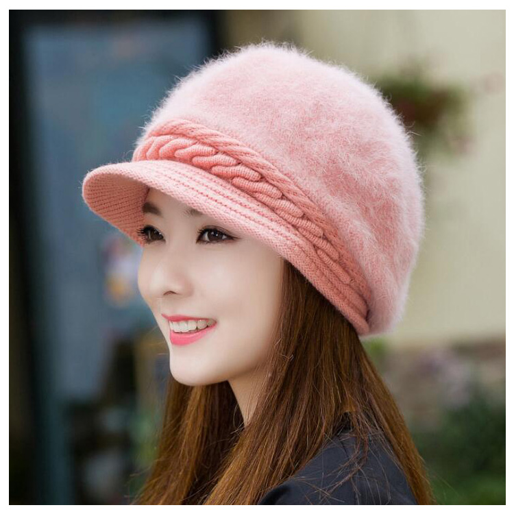 e56c429bdd1 Top Fashion New Design Women s Ladies Winter Caps Hats - Buy ...