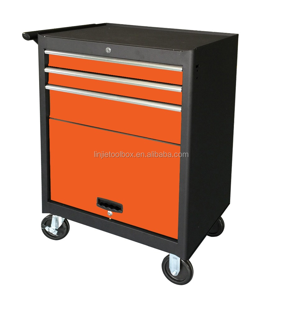 27 inch with 5 samll and 2 midddle drawers metal rolling tool cabinet