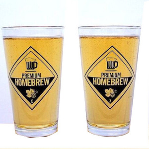Wholesale 16oz silicone pint glass jar With Custom Logo for beer