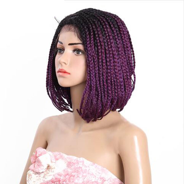 Hair Extensions & Wigs Lace Wigs Cooperative Aisi Beauty Natural Long Wavy Pink Braided Princess Synthetic Lace Front Wig For Women High Temperature Fiber Costume Party