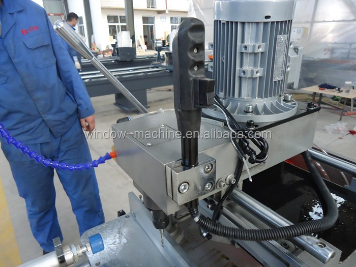 Enkele as kopie router frezen aluminium raam machine