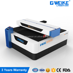 G.weike LC1325M metal & non metal co2 laser cutting machine wood acrylic lether cnc laser machine