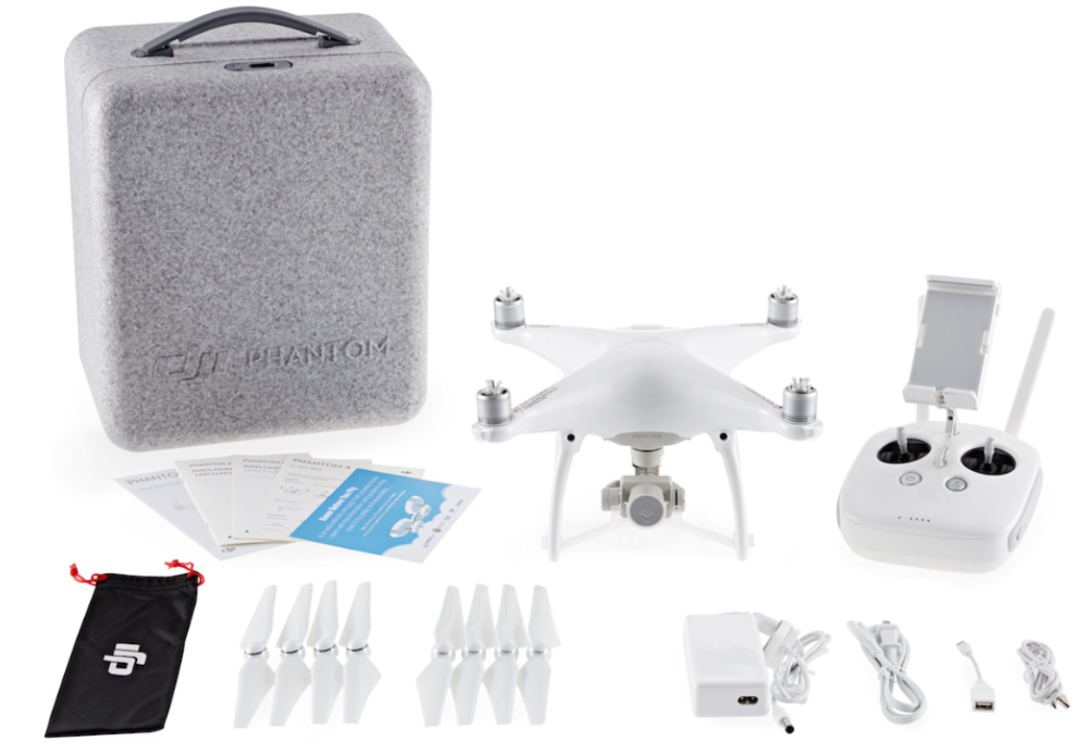 DJI Phantom 4 QuadCopter rc drone Pro GPS Phantom 4 w/ 4K HD Camera and ronin Gimbal