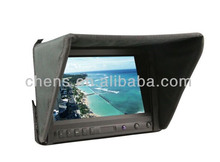 No blue screen 8 HD FPV monitor for camera fans