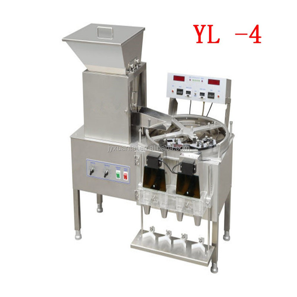 YL-4 Capsule Tablet bottle filling Counting Machine