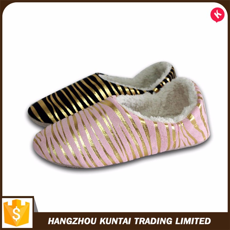 Hot selling cheap custom warm indoor winter slipper shoes