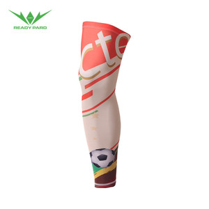 OEM Custom Design World Cup Style Compression Calf Sleeves For Men