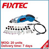 Fixtec power tools 170w mini rotary tool kit mini angle grinder