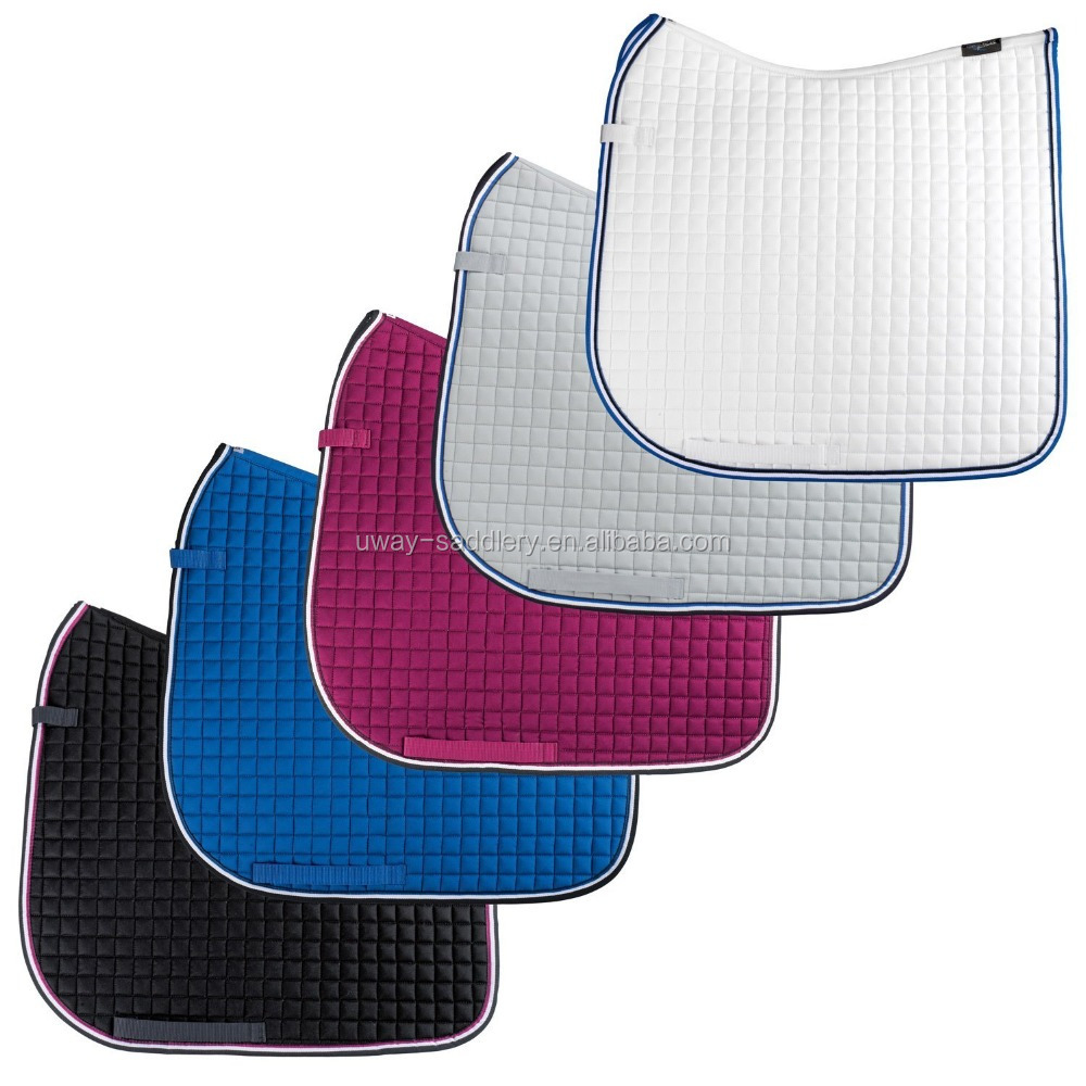 Equestrian jumping saddle pad, different color for choice