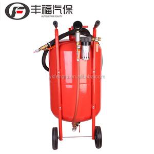 Vacuum sandblaster dustless portable sand blaster machine