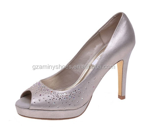 dress platform peep rhinestone women heel Latest shoes fashion shoes high leather toe aH0aIwq