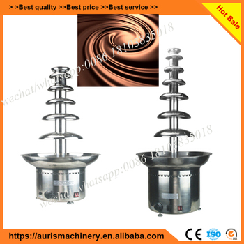 stainless steel sephra chocolate fountain stand machine suppliers