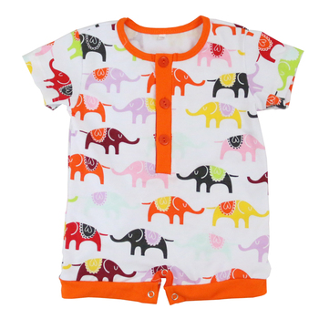 Baby Ruffle Rompers Wholesale Floral Animal Print Newborn Baby